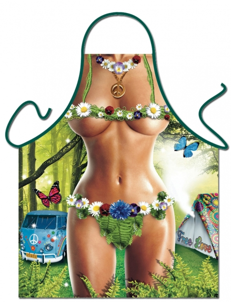 Schürze - Hippie-Woman
