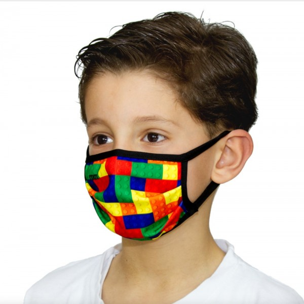 Gesichtsmaske für Kinder Atemmaske Spielsteine - itati-shop.de