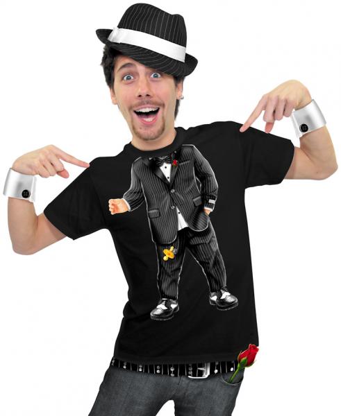 Herren T-Shirt - Baby-Pate schwarzes T-Shirt