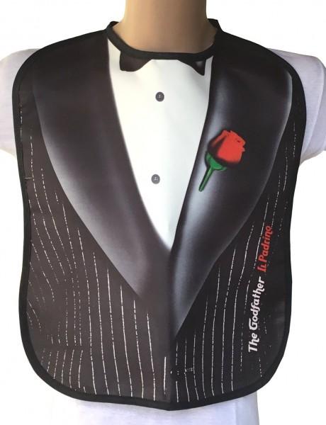 Erwachsenen Lätzchen Anzug Lustig Godfather = ITATI-Textilien
