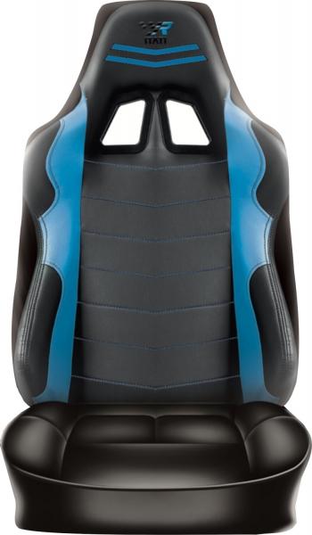 Racing Rückenlehnenüberzug Sitzbezug Auto Wohnmobil Blau