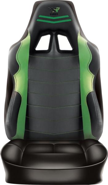 Racing Rückenlehnenüberzug Grün Sitzbezug Auto Wohnmobil