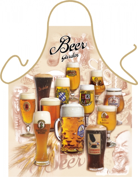 Latzschürze Biergarten / Beer Garden Original ITATI