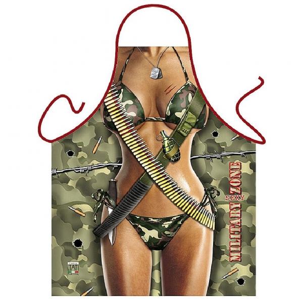 Schürze = Military Girl