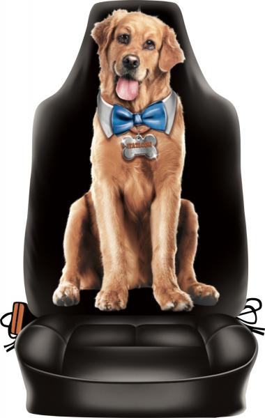 Auto Rückenlehnenüberzug - Funny Dog
