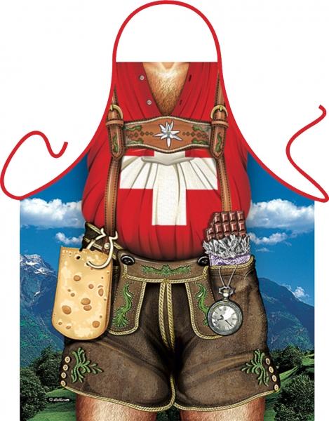 Schürze - Schweizer Mann