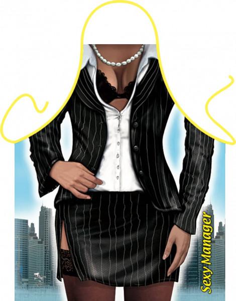 Managerin Business Woman Schürze (GR-31144) www.itati-shop.de