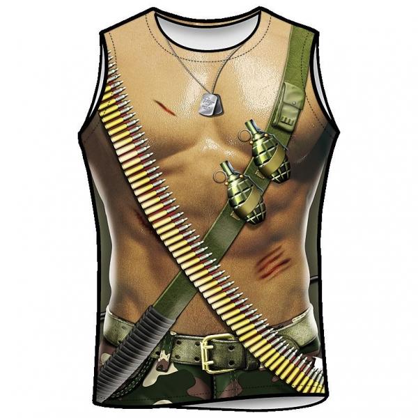 Shirt - Military Man (Einheitsgröße S-L)