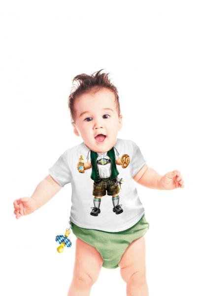 Baby T-Shirt - Lederhose XXS