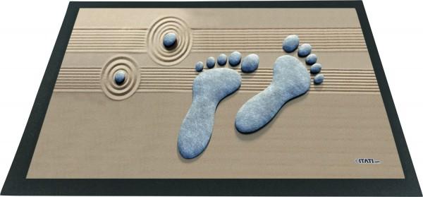 Fussmatte 3D Füße