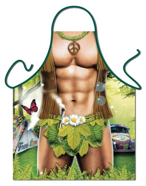 Schürze - Hippie-Man
