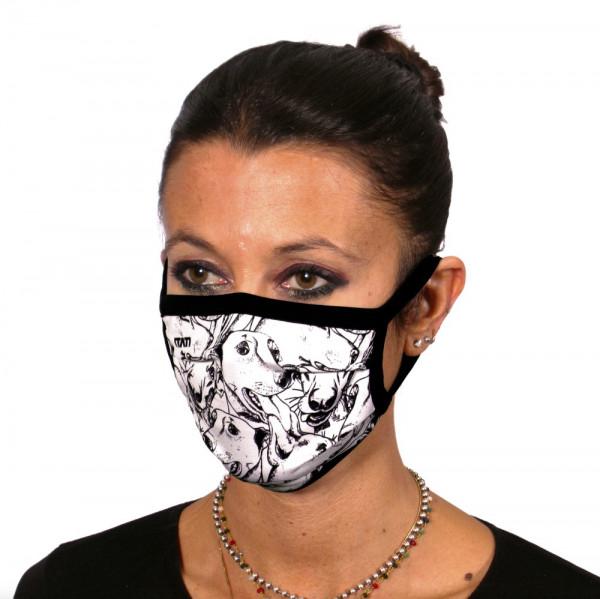 Gesichtsmaske Hundefreund