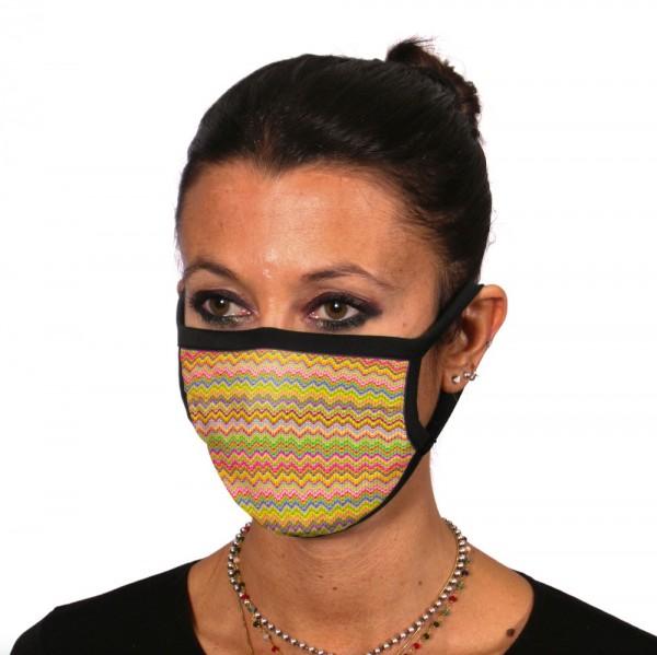 Gesichtsmaske Atemmaske ZickZack - itati-shop.de