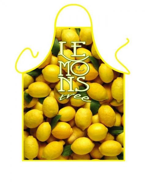 Schürze - Zitronen