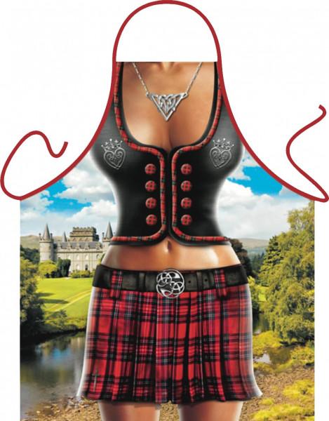 Scottish Woman Schürze ITATI-Textilien (GR-39363) www.itati-shop.de