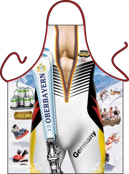 Lustige Schürze Ski Mann Oberbayern