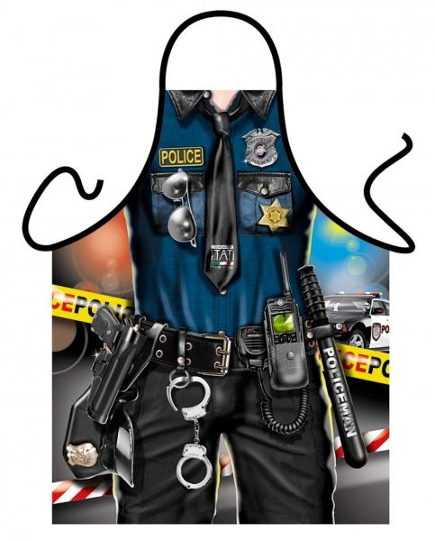 Schürze - Policeman