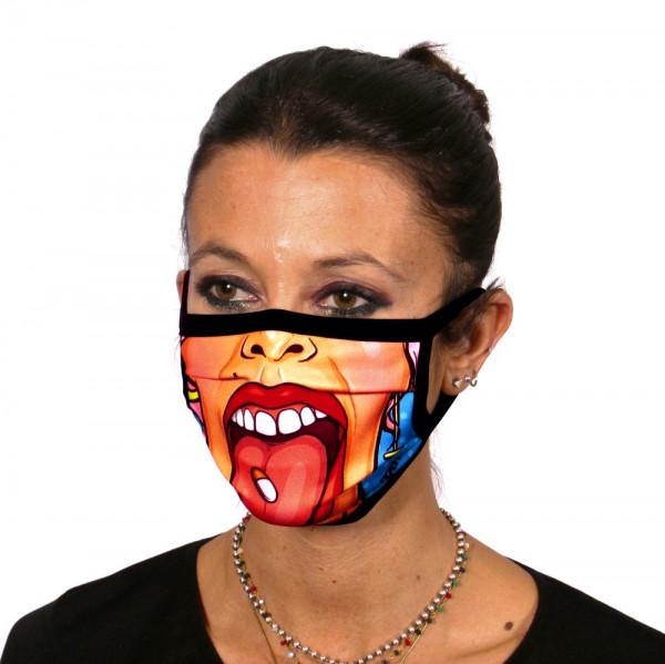 Gesichtsmaske PopArt