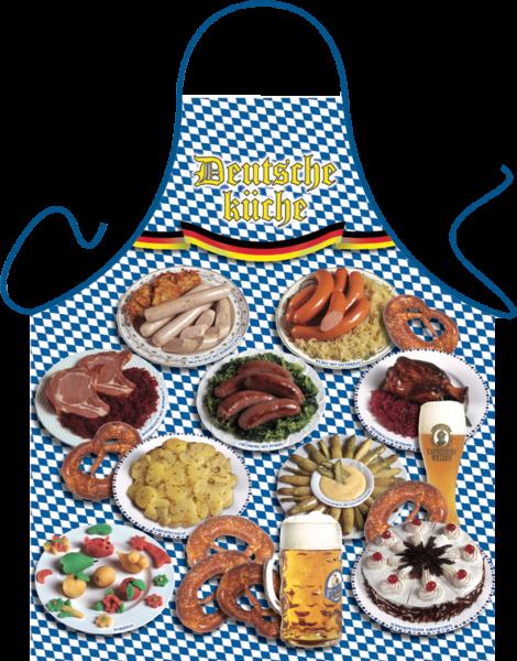 Deutsche Küche Kochschürze ITATI-Textilien (GR-20260) www.itati-shop.de