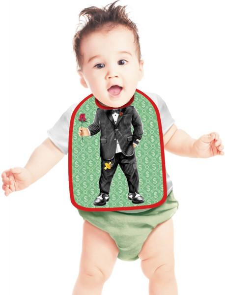 Lätzchen Kleiner Gentleman Baby ITATI-Textilien