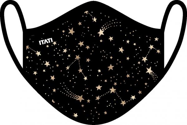 AIR Maske zertifiziert mit Sternenhimmel Aufdruck