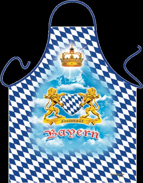 Schürze - Freistaat Bayern mit Herz
