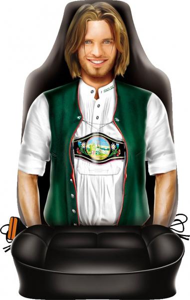 Autositzbezug Sitzbezug Autositzschoner Sitzschoner bedruckt mit Motiv Trachten Kerl