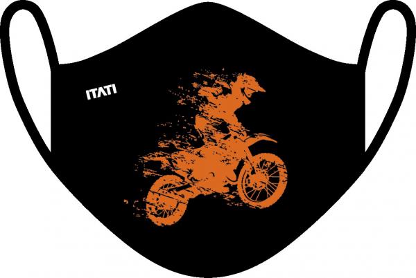 AIR Maske zertifiziert mit Aufdruck Motocross