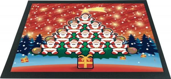 Fussmatte Weihnachten Weihnachtsmänner