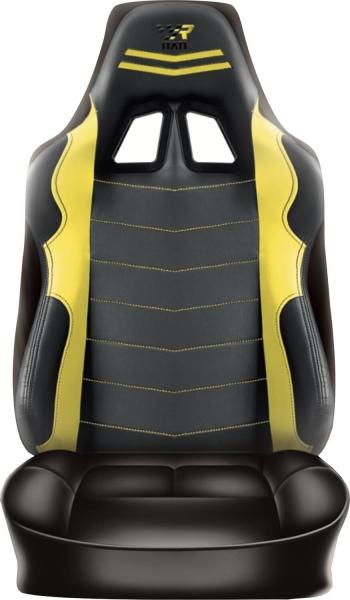 Rückenlehnenüberzug Sitzbezug Auto Wohnmobil Raceing Gelb