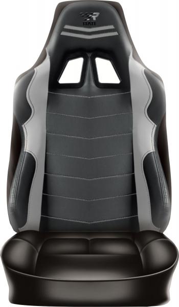 Racing Rückenlehnenüberzug Grau Sitzbezug Auto Wohnmobil