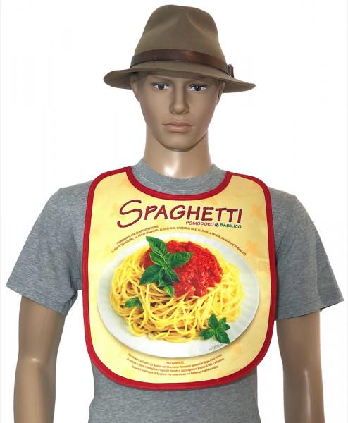 Lätzchen für Erwachsene - Spaghetti Nudeln (BA-20164)