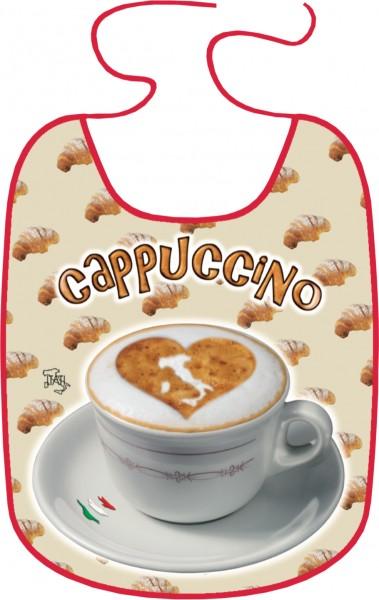 Latz für Erwachsene = Cappuccino