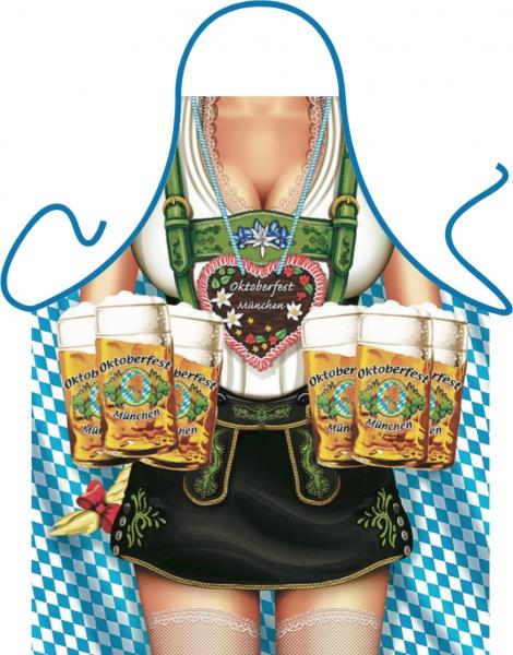 Schürze = Oktoberfest Frau