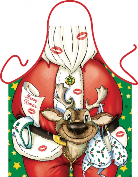 Schürze - Weihnachts-Elch