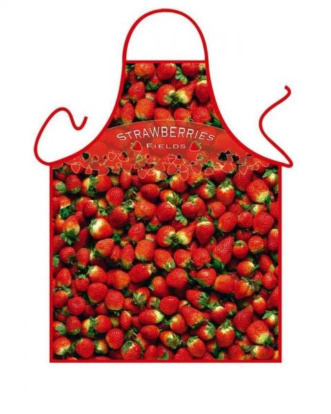 Schürze - Erdbeeren