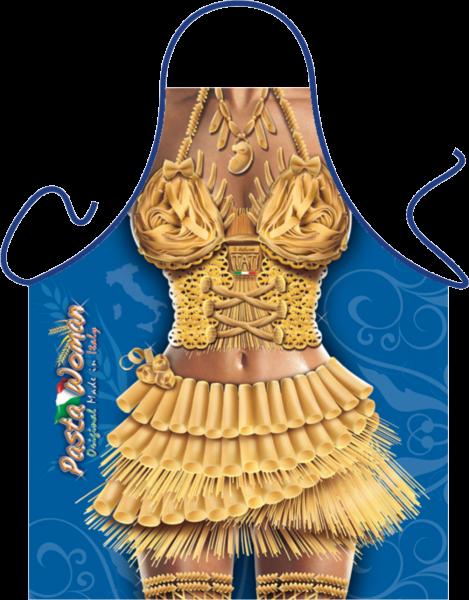 Pasta Frau Schürze ITATI-Textilien (GR-35269) www.itati-shop.de