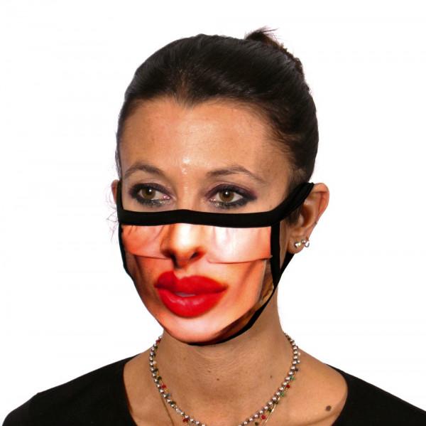 Gesichtsmaske Küss mich