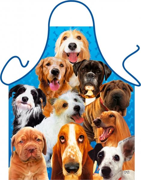 Schürze - Hunde