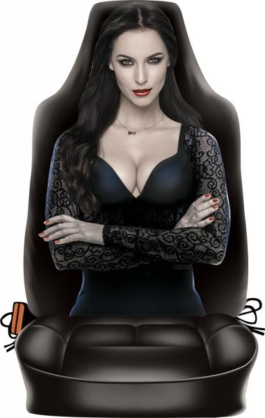 Auto Sitzbezug Dark Lady ITATI-Textilien