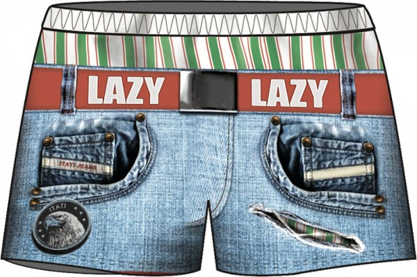 Lustige Boxershorts Lazy Boy - sofort lieferbar