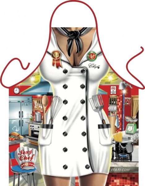 Chefköchin Schürze