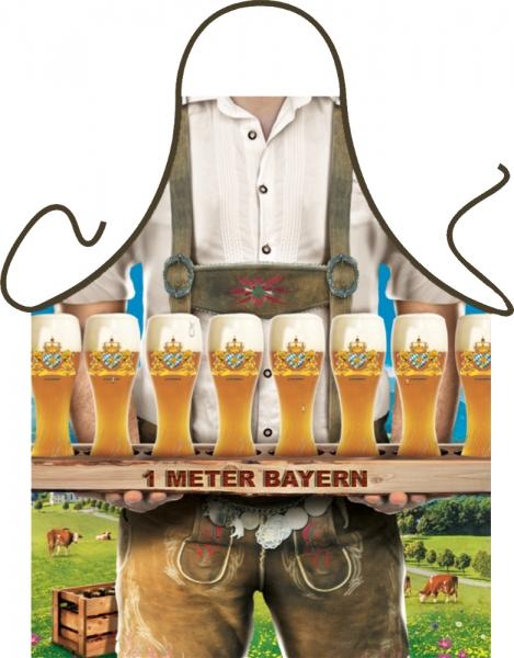 Lustige Schürze Bier Bayern Meter
