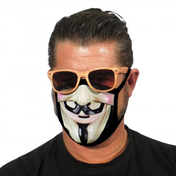 Gesichtsmaske Filmstar
