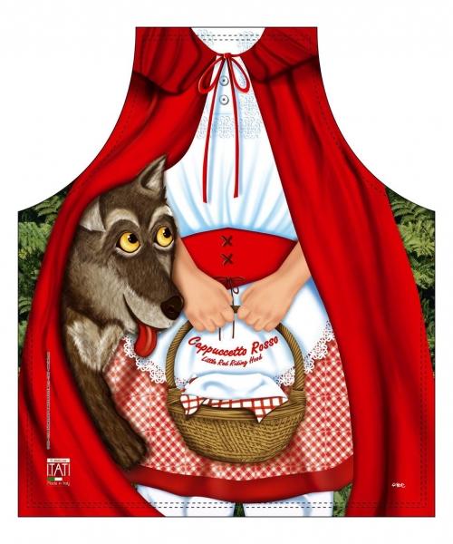 Kinderschürze - Rotkäppchen