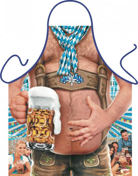 Bierbauch Schürze für den Mann ohne Bauch