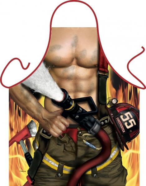 Schürze - Feuerwehr Mann