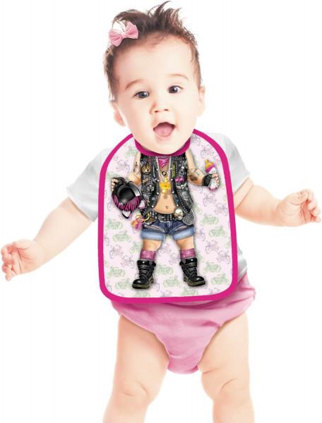 Lätzchen Biker Girl Baby ITATI-Textilien
