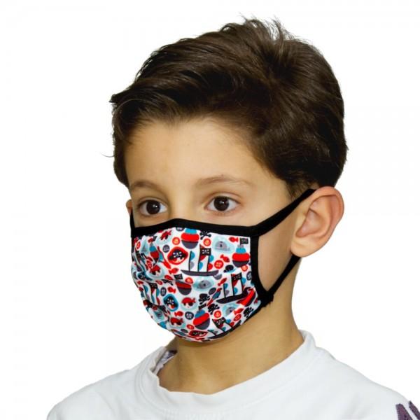 Gesichtsmaske für Kinder Atemmaske Piraten - itati-shop.de