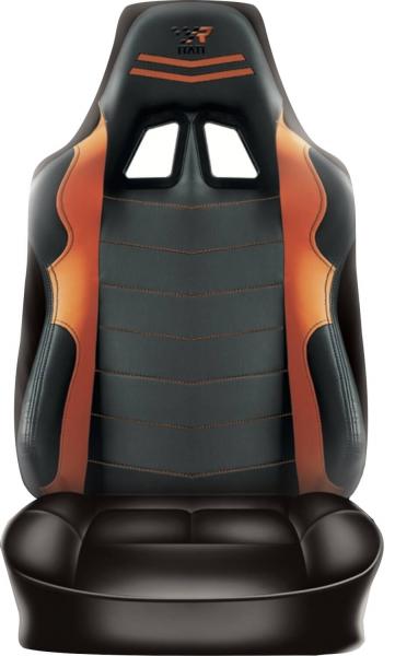 Rückenlehnenüberzug Sitzbezug Auto Wohnmobil Raceing Orange